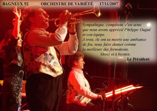 Bagneux 92-2007-orchestre de variété 1