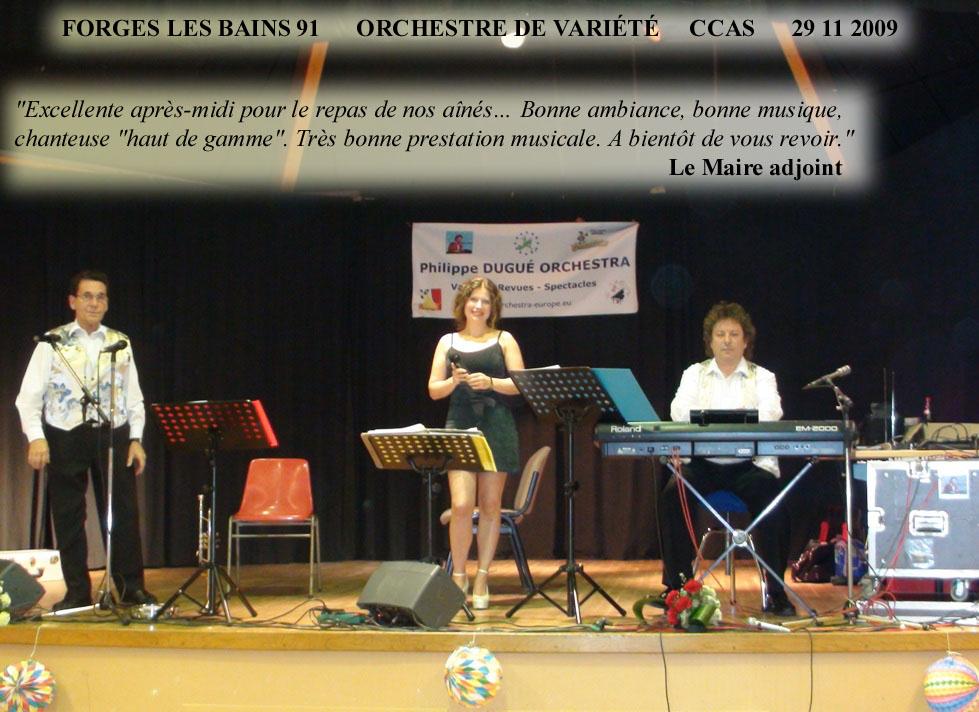 Forges les Bains 91-2009-orchestre de variété 1