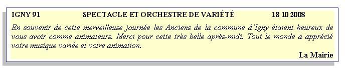 Igny 91-2008-orchestre de variété