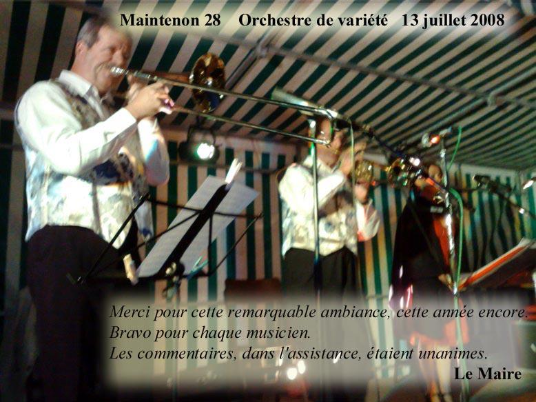 Maintenon 28 (2008)-orchestre de variété 1