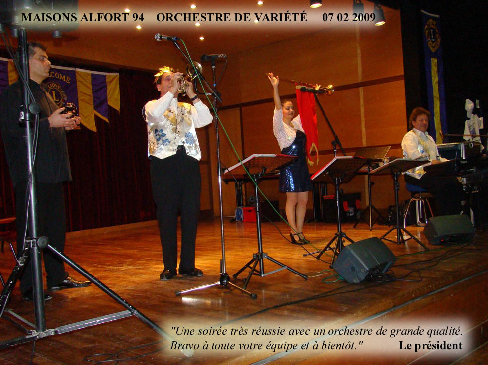 Maisons Alfort 94-2009-orchestre de variété