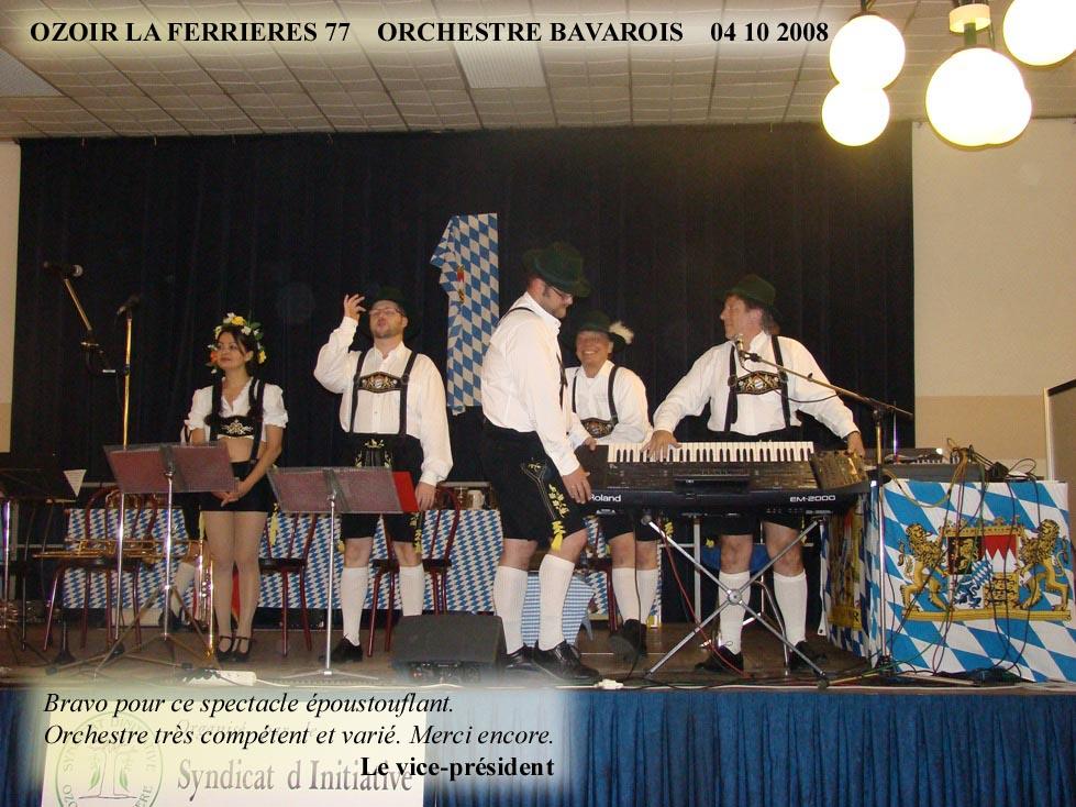 Ozoir la Ferrières 77-2008-orchestre bavarois-orchestre de variété 1