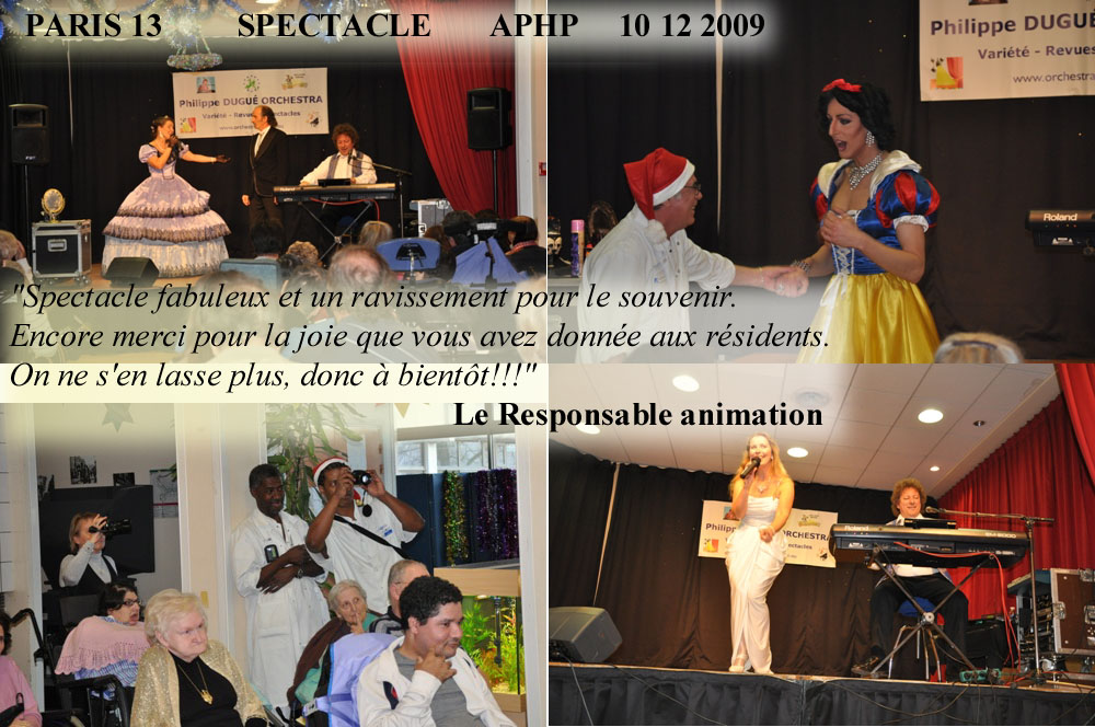 Paris 13 .3- 2009- orchestre de variété 1