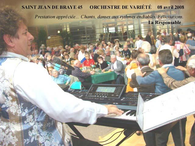 Saint Jean de Braye 45-2008-orchestre de variété 1