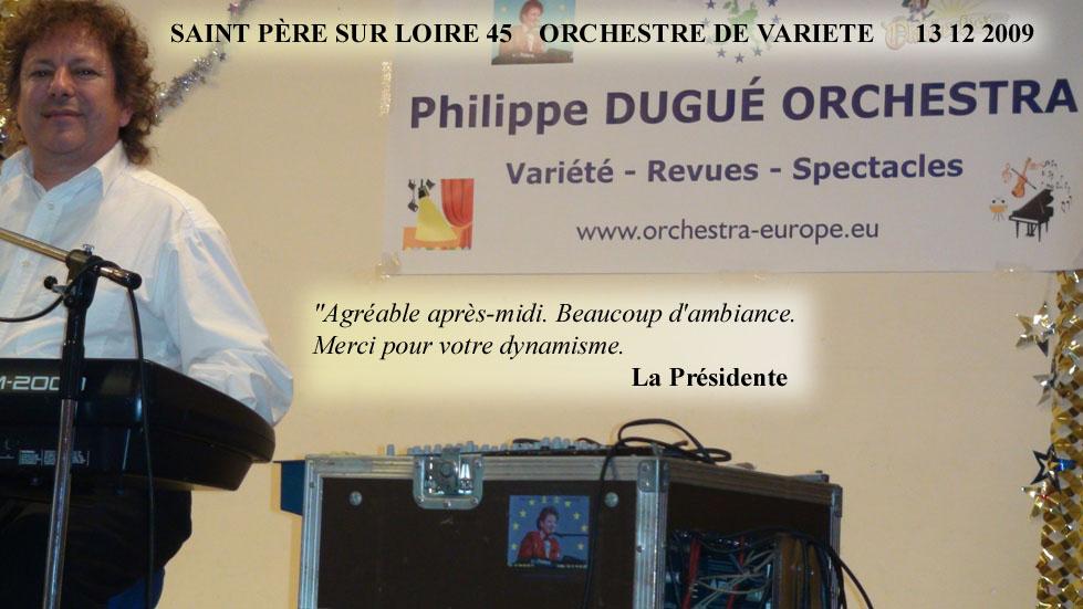 Saint Père sur Loire 45-2009-orchestre de variété 1