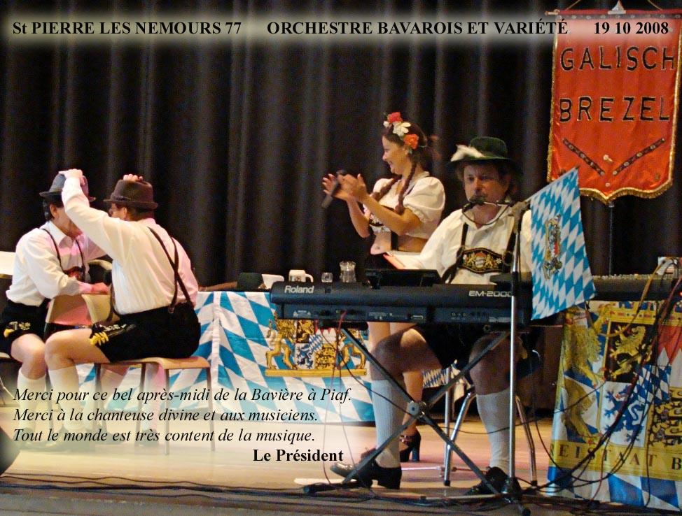 Saint Pierre les Nemours 77-2008-orchestre bavarois-orcheste de variete 1
